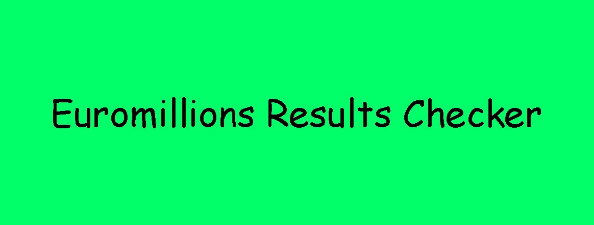 Euromillions Results Checker