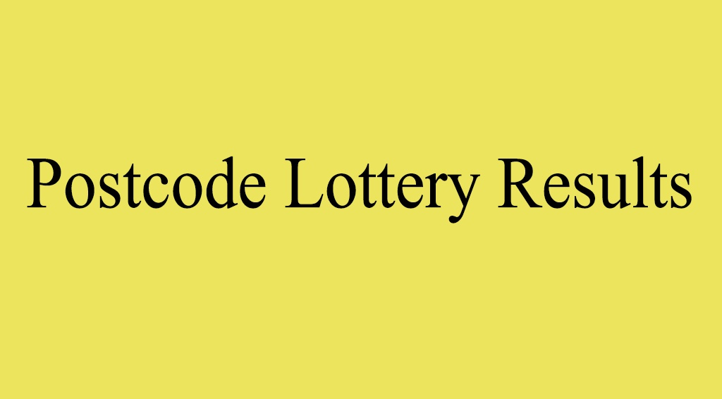 Postcode Lottery Results